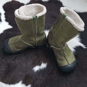 Keen Kids Winter Leather Boots